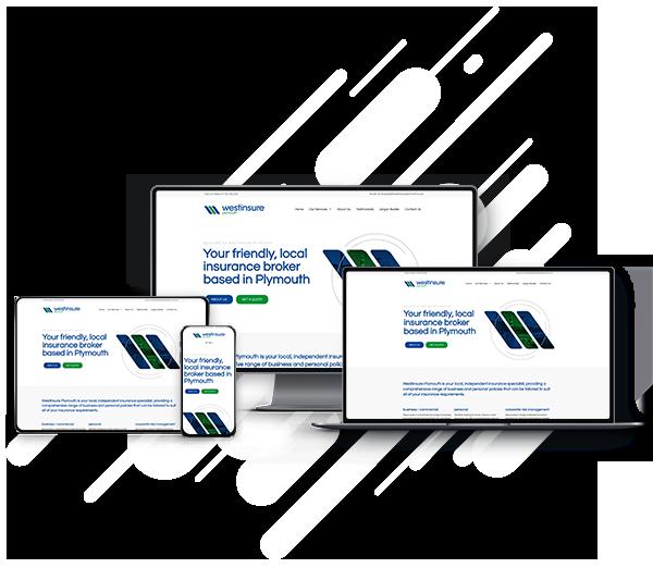 Website design in Plymouth, Devon from Blue Sky Web Design